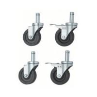 4x PVC Castor Wheels